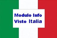 modulo info visto italia
